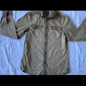 Men button down shirt size medium. Brand A/X